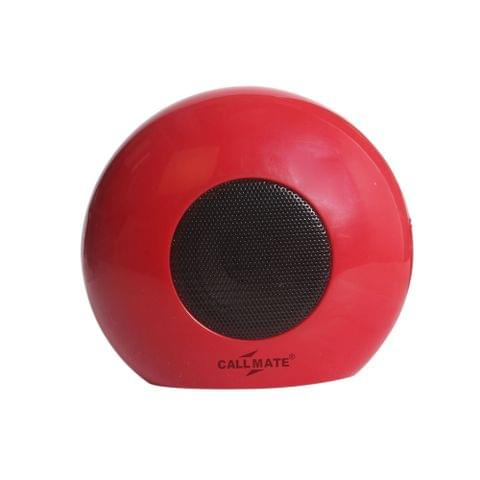 Callmate Bluetooth Speaker -281 - Red