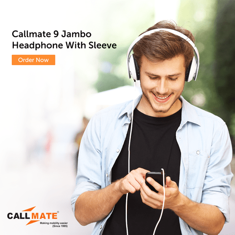 Callmate 9 Jambo Headphone With Sleeve  -  Multi color