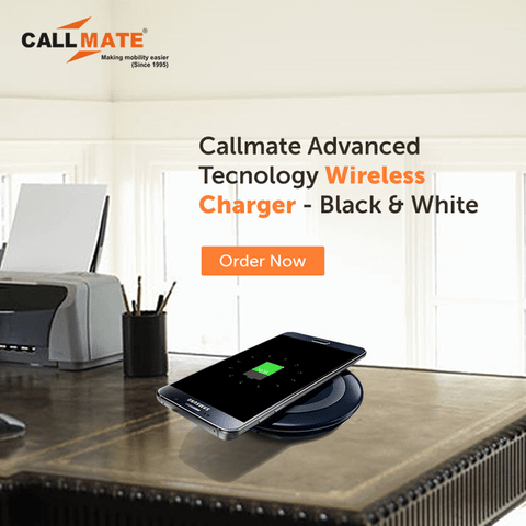 Callmate Advanced Tecnology Wireless Charger with Micro Usb Charging Receiver