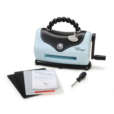 Texture Boutique Embossing Machine Starter Kit