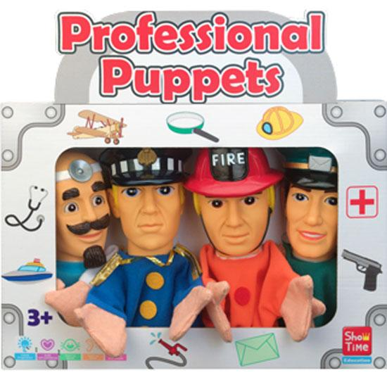 Professional #1 - Large Hand Puppets  (Pack of 4)