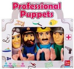 Professional #2 - Large Hand Puppets  (Pack of 4)