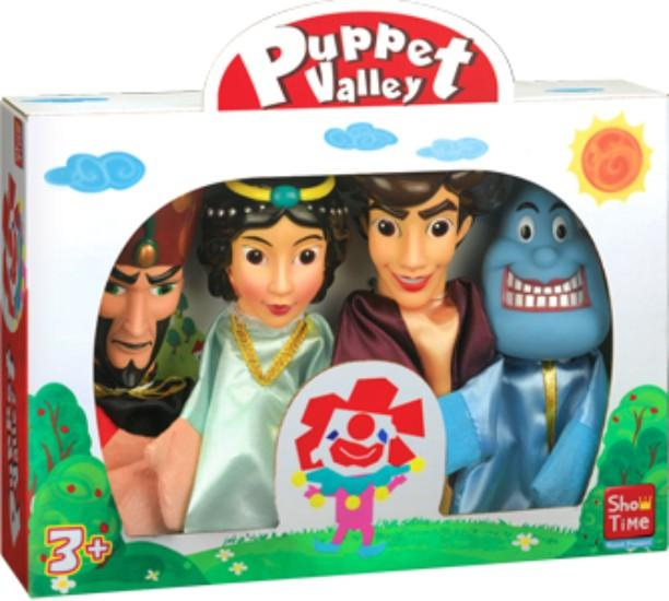 Aladdin & Genie, Large Hand Puppets  (Pack of 4)