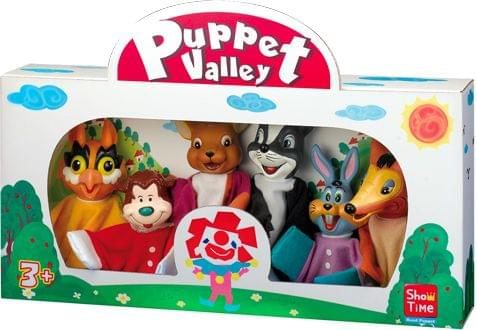 Animal Junior, Large Hand Puppets  (Pack of 6)