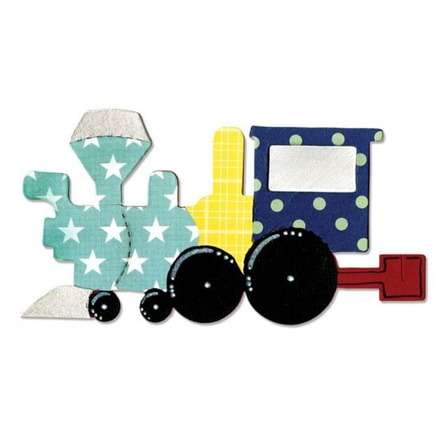 Sizzix Bigz Die - Train, Locomotive - A10192