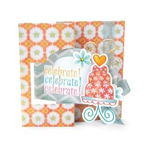 Sizzix Movers & Shapers L Die - Card, Ornate Flip-its - 658703