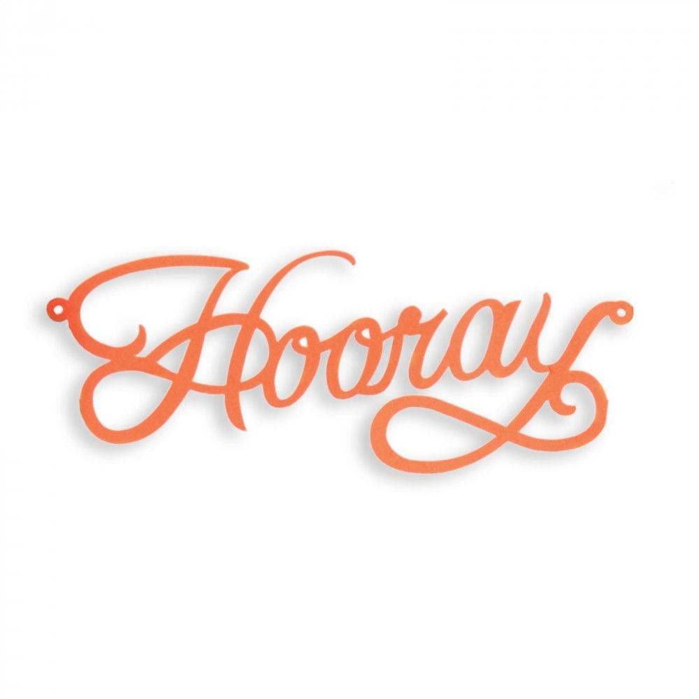 Sizzix Thinlits Die - Cake Topper, Hooray Item - 660892