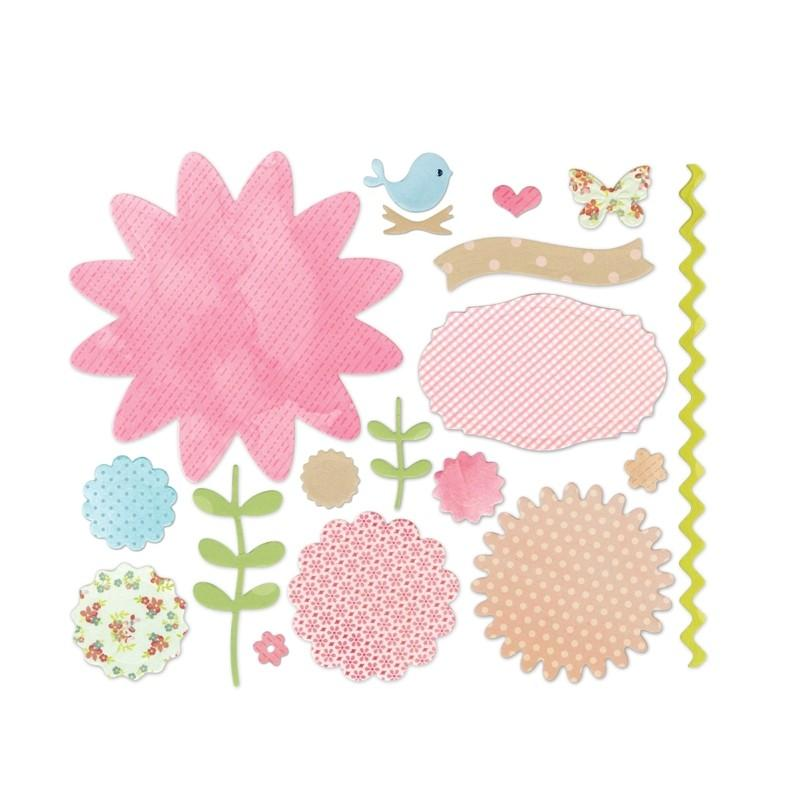 Sizzix Thinlits Die Set 18PK - Secret Garden Item - 660694