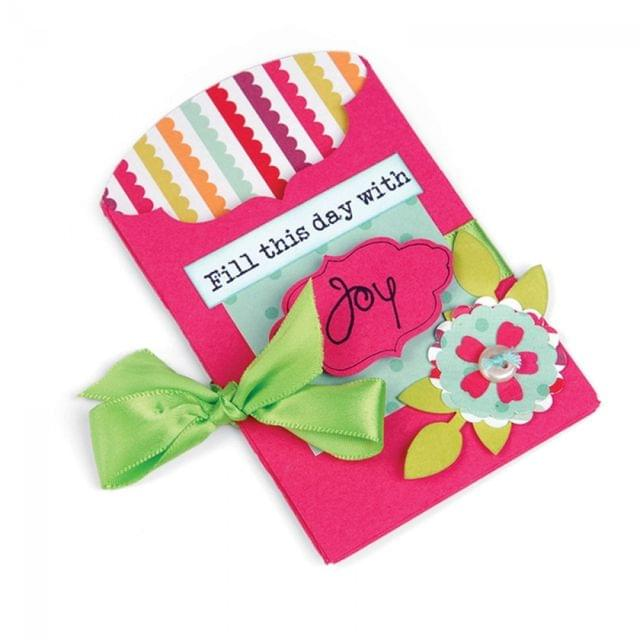 Sizzix Bigz L Die - Pocket, Fancy - 659782