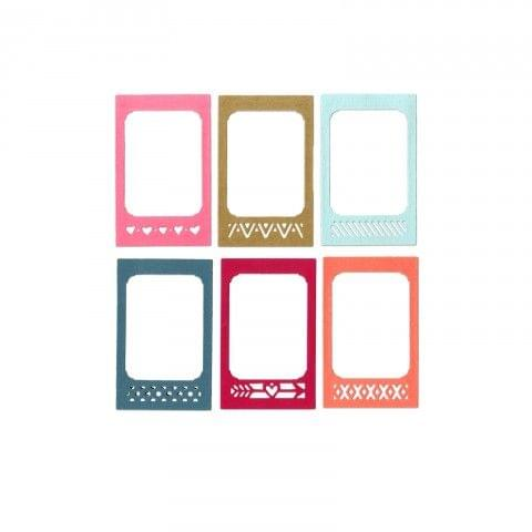 Sizzix Thinlits Die Set 12PK - Photo Frame & Borders - 661399
