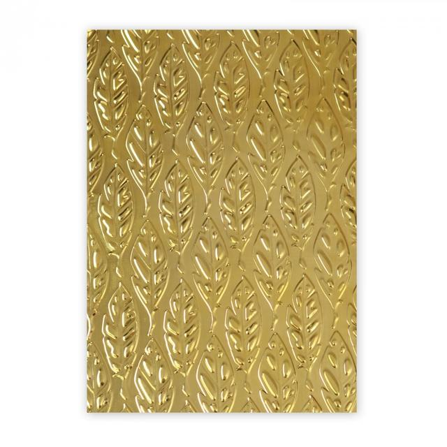 Sizzix 3-D Textured Impressions Embossing Folder - Feathers - 661257