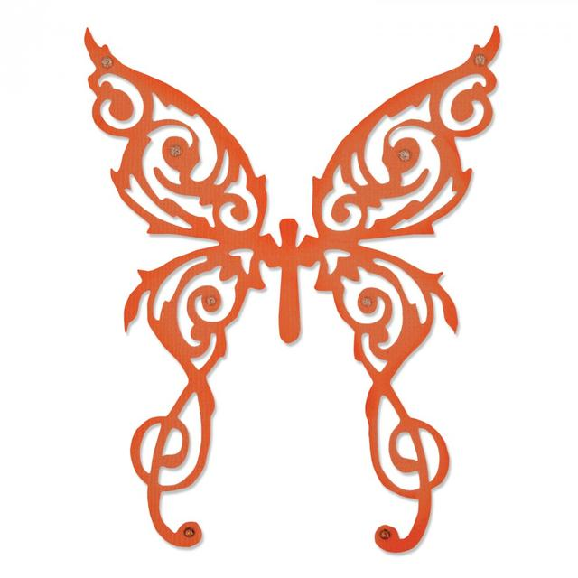 Sizzix Thinlits Die - Rare Butterfly - 661066