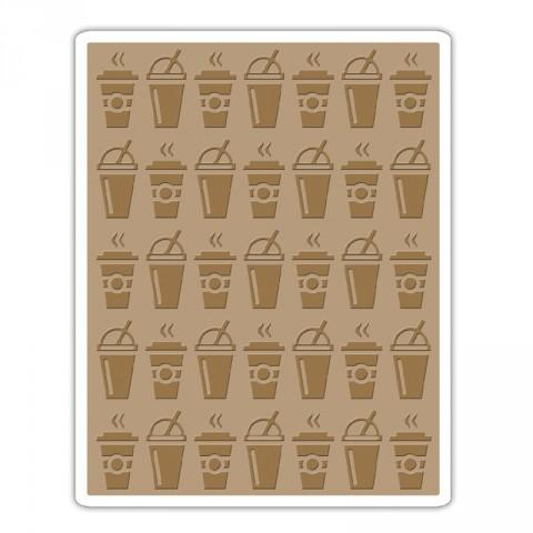 Sizzix Texture Fades Embossing Folder - On the Go - 660248