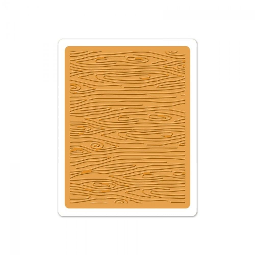 Sizzix Textured Impressions Embossing Folder - Woodgrain #3 - 660408