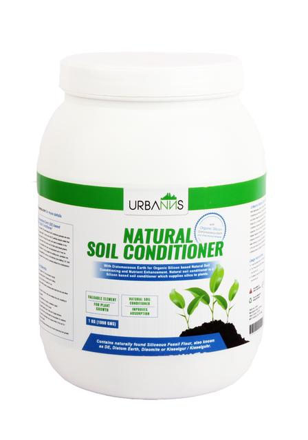 Organic Soil Conditioner based on Diatomaceous Earth Granules
