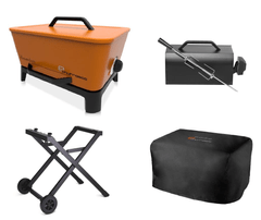 Everdure Gas Start Charcoal Portable BBQ Package