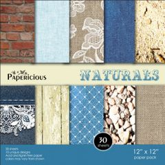 Papericious 12×12 Paper Pack - Naturals