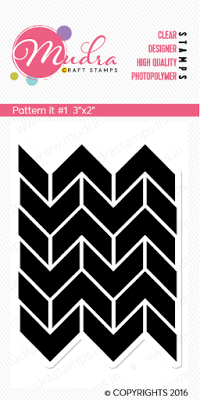 Mudra Clear Stamps - Pattern it