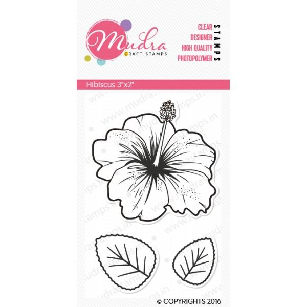 Mudra Clear Stamps - Hibiscus