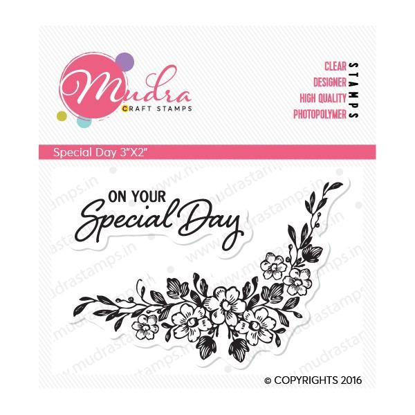 Mudra Clear Stamps - Special Day