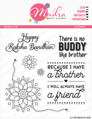 Mudra Clear Stamps - Brother