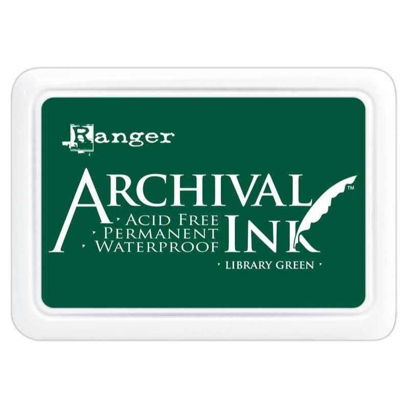 Archival Ink Pad - Library Green