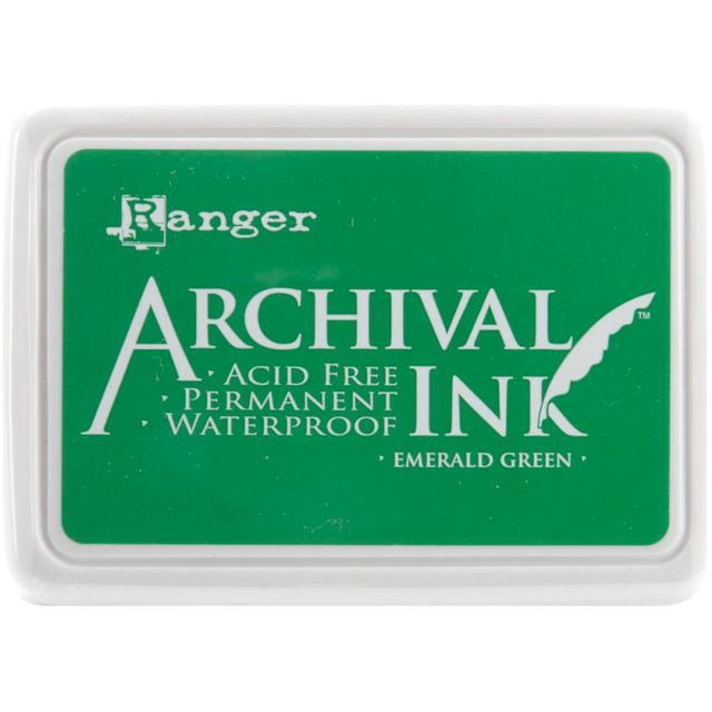 Archival Ink Pad - Emerald Green