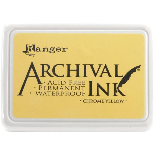 Archival Ink Pad - Chrome Yellow