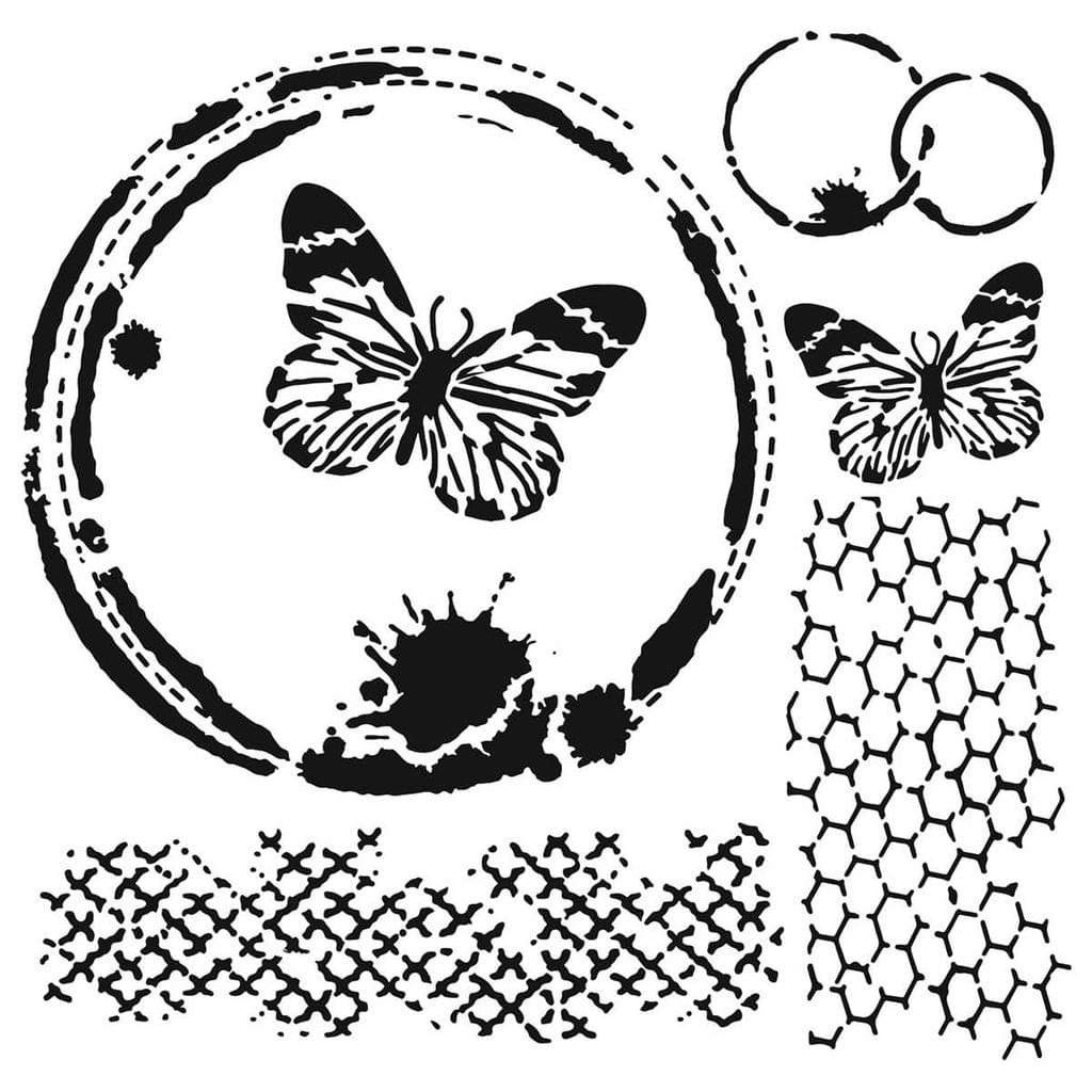 Mini Butterfly Collage