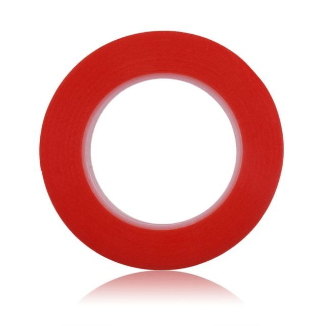 Red Tacky Tape 18 mm