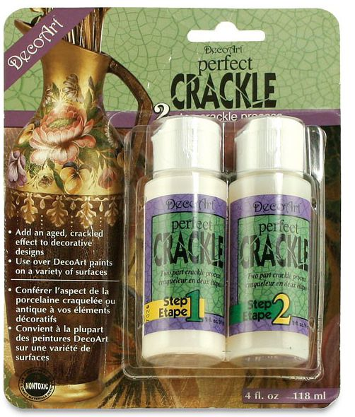 Deco Art-  Perfect Crackle 2 Step