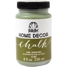 Spanish Moss - FolkArt Home Decor Chalk Paint
