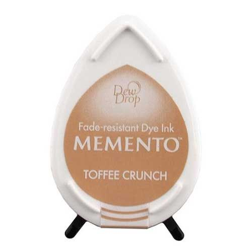 Toffee Crunch -Memento Dew Drop Dye Inkpad