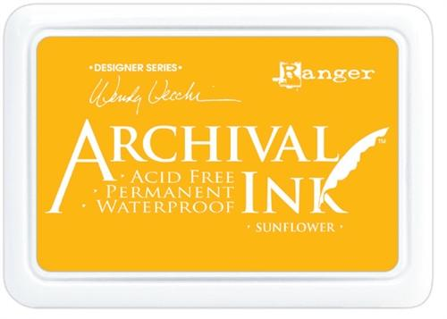 Archival Ink Pad - Sunflower