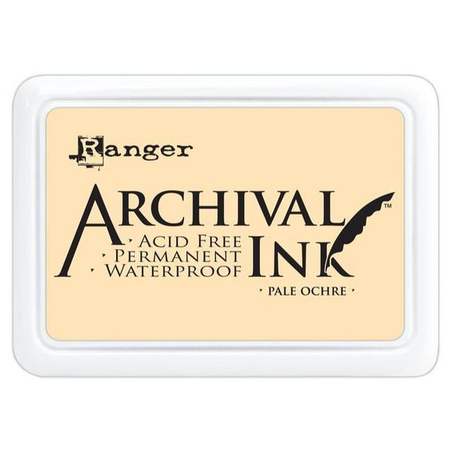Archival Ink Pad - Pale Ochre