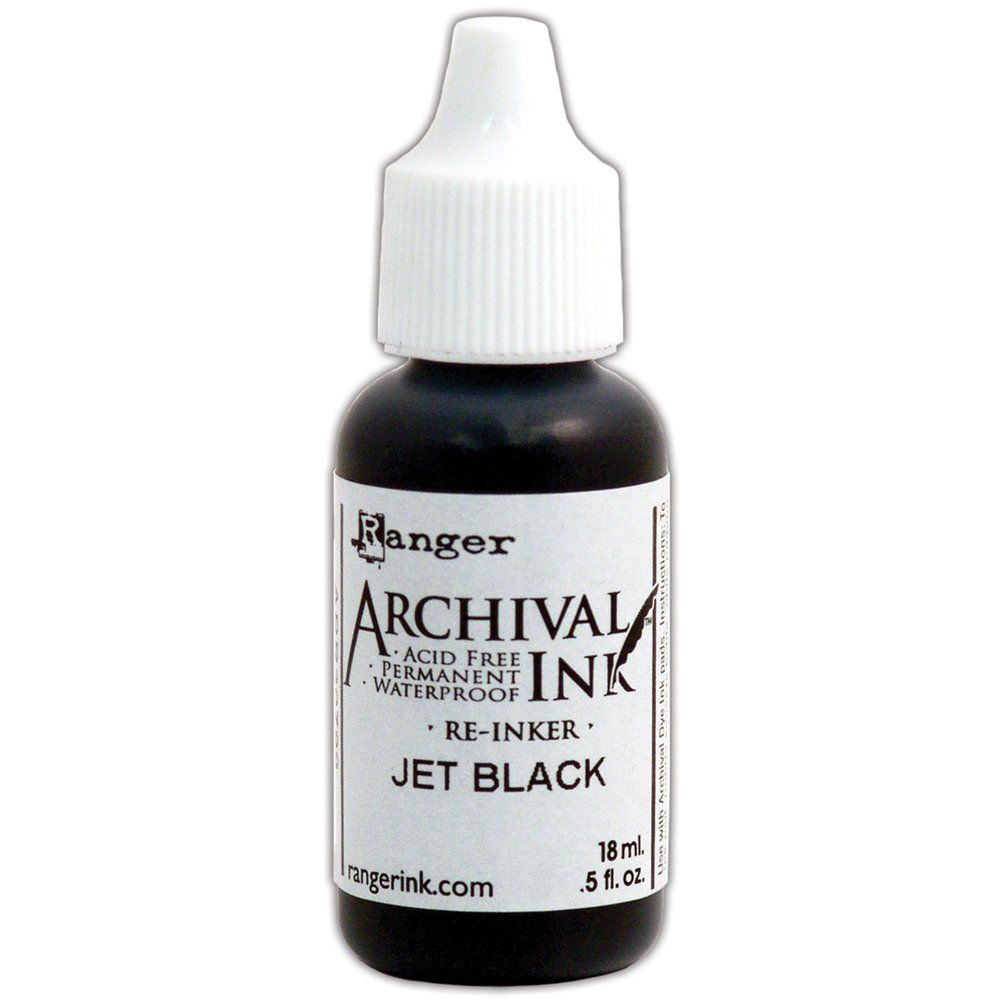 Archival Re Inker - Jet Black