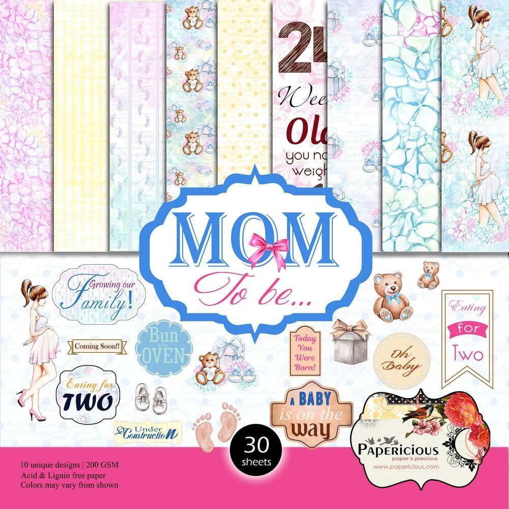 Papericious 12×12 Paper Pack – Mom to Be