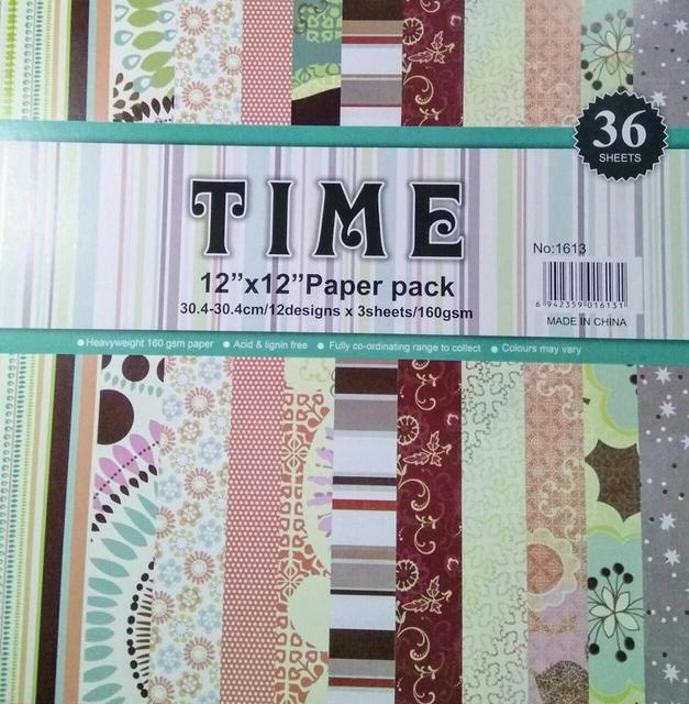 Time Pattern Paper - Design 5