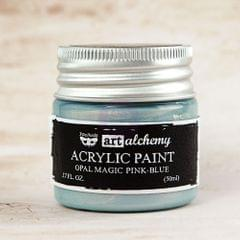 Art Alchemy-Acrylic Paint-Metallique Opal Magic Pink/Blue 1.7oz