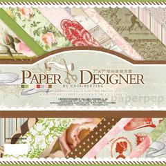 Enogreeting Pattern Paper - Romantic