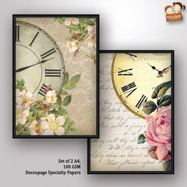 Decoupage Paper - shabby chic 3 (Pack of 1 set)