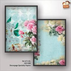 Decoupage Paper - shabby chic 7
