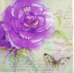 Decoupage Napkin/ Tissue Papers - Butterfly