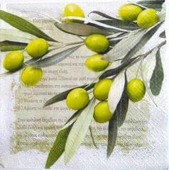 Decoupage Napkin/ Tissue Papers - Olive