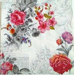 Decoupage Napkin/ Tissue Papers -  Rose