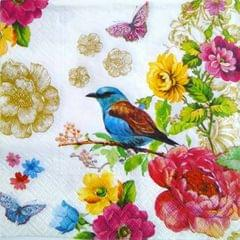Decoupage Napkin / Tissue papers - Birdy