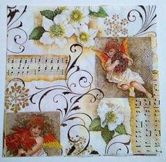 Decoupage Napkin / Tissue papers - Angel