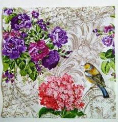 Decoupage Napkin / Tissue papers - Birdy Background