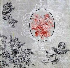 Decoupage Napkin / Tissue papers - Cupid