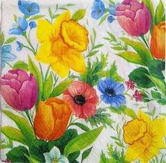 Decoupage Napkin / Tissue papers - Rose Bud